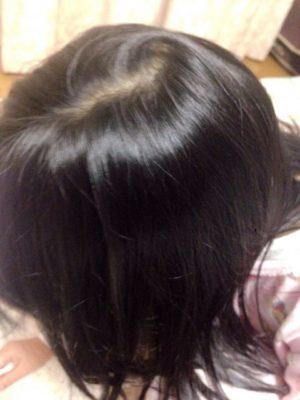 髪の毛 天使の輪